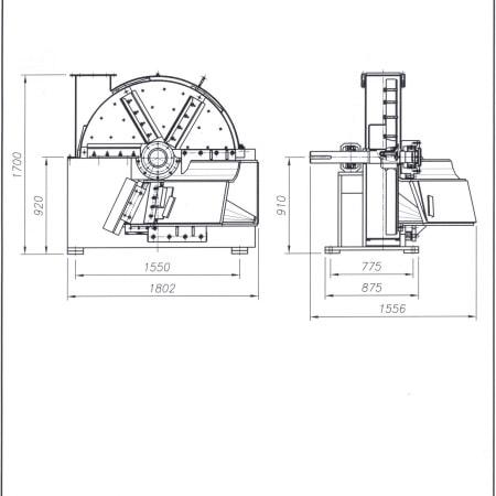 Disk Chipper NCH147/3 & NCH147/6