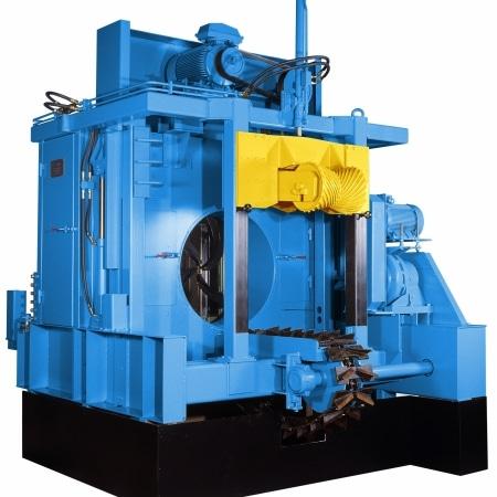 Single Rotor Debarker for Large Logs
